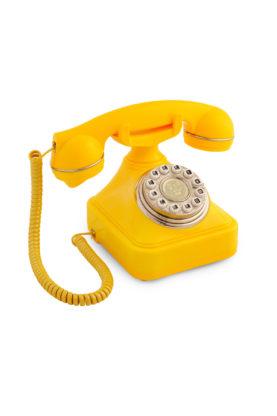 Sarı Klasik Telefon